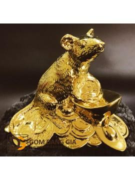 Tượng 12 con giáp mạ vàng 24k S1